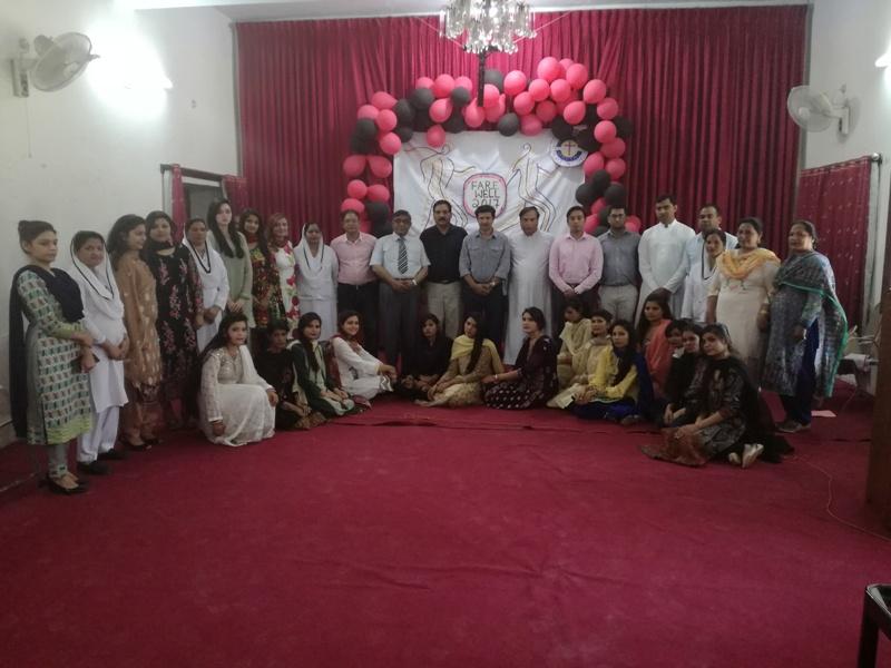 Farewell party of Nursing Students