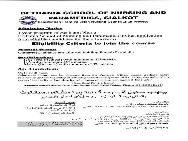 Nursing School Admission